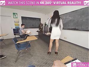 VRBangers tutor Romi Rain Getting wedged By A guy