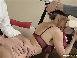 The husband of Brandi enjoy lets her tear up a different guy