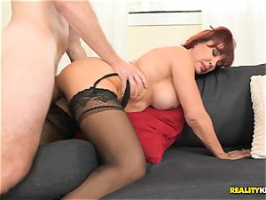 sexy Vanessa getting her elder muff pounded