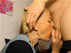 xxx OMAS - muddy mature German wifey in super-naughty bang