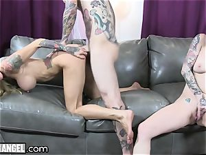 huge-boobed tatted cougar Cams With Joanna Angel