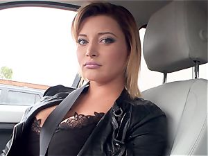stellar euro Anna Polina picked up and ideally smashed