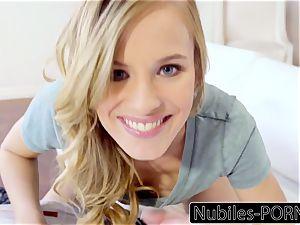 Nubiles-Porn Jillian Janson Makes Him jism inwards