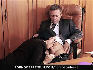 porno ACADEMIE - buttfuck fuckfest for Ania Kinski in 3some