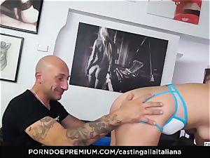 audition ALLA ITALIANA - newcomer buttfuck gape and pummel