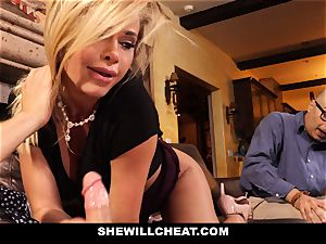 cuckold spouse witnesses Wifes honeypot Get demolished
