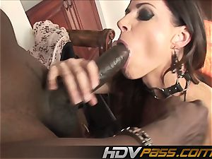 HDVPass interracial fuck-a-thon with India Summers