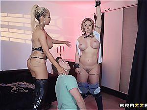Eva Notty drills her stepson with Bridgette B
