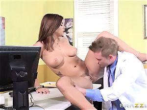 physician Keisha Grey bangs one of her wild molten fucking partners