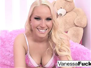 Interview and sex with adorable Vanessa cell