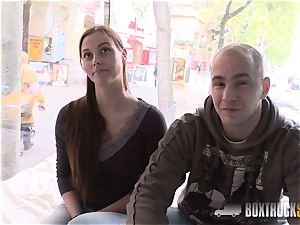 super hot Cloe lets her boyfriend nail her in front of camera