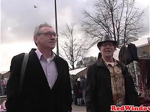 Pussyeaten amsterdam call girl enjoys tourist