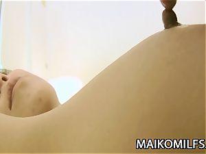 Kumiko Katsura - Mature JAV puss Plugged And Creampied