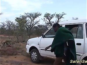 crazy african safari lovemaking orgy