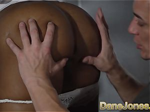 Dane Jones black brit honey deepthroat and humped