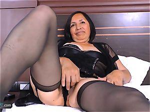 AgedLovE kinky Mature Latina doll hard-core intercourse
