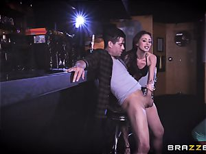 Monique Alexander and August Ames get their cunts submerged with Xanders fuck-stick