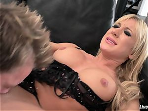 LiveGonzo Amy Brooke super-naughty anal light-haired