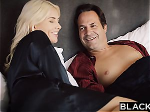 BLACKED wife Gigi Allens Takes Her first ginormous ebony rod