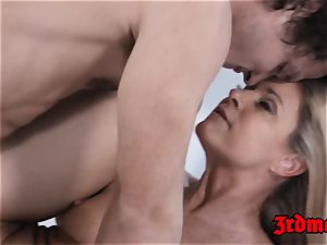mischievous India Summer pumped with younger enormous boner