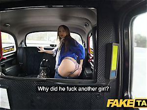 faux cab super hot revenge cab drill for stellar luxurious minx
