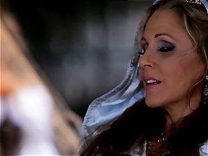 fairy godmother Julia Ann grants a boners fantasy