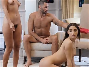 threeway with two spectacular beauties Marica and Abella