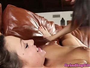 sexy lesbians sixtynining together
