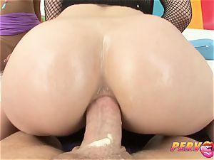 PervCity Krissie and Proxy chinese anal three way