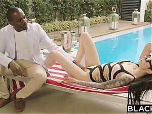 BLACKED Model enjoys Having big black cock In Her bootie