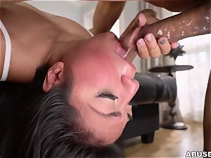 Crime and penalty. super-fucking-hot Latina likes harsh firm fuckfest