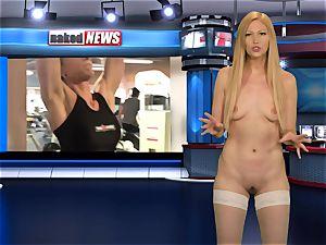 nude flash On TV