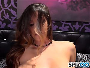 big-titted Alison Tyler riding shaft