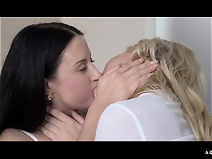 A damsel Knows - erotic lesbo fuck-a-thon with super-fucking-hot Czech honeys