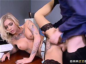 Kleio Valentien dick slammed by Danny D