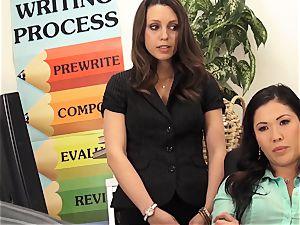 professors London Keyes and Jade Nile shag a schoolgirls parent