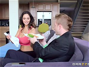 Ava Addams is smashed in both her moist crevices