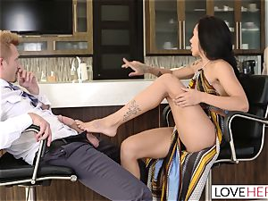 LoveHerFeet - Sneaky cheating sole fuck-a-thon With The Realtor