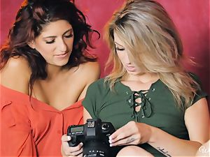 Aspen Ora and Lexy Rose have joy after a photoshoot