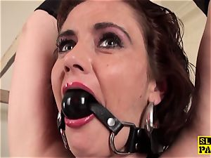 red-haired brit victim assfucked and bound