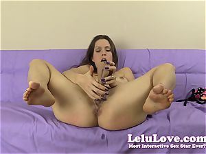 enslaved fledgling gal slaps herself and faux-cock nail