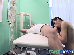 FakeHospital sloppy medic pummels thief and creampies her