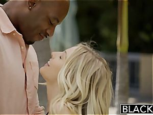 BLACKED very first interracial foursome for uber-sexy Blondes Karla Kush and Jillian Janson