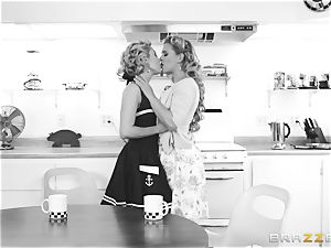 Aaliyah love and Cherie Deville go back in time