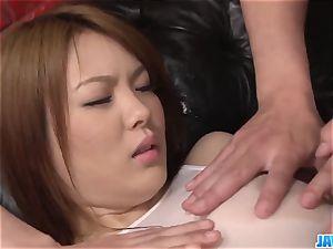 Subtitles - japanese cutie Rei gets trunk in her cute