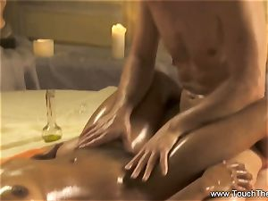 intimate calming rubdown For lady