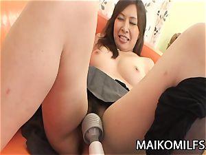 Machiko Nishizaki - crazy JAV wife banged By A Stranger