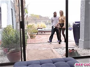 maxcuckold.com hotwife female domination blond