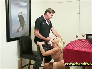 smashing the Boss's wife with Ms Paris Rose