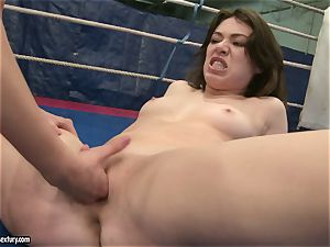 Mandy Dee lusty stunner with steamy gal have a rigid struggle